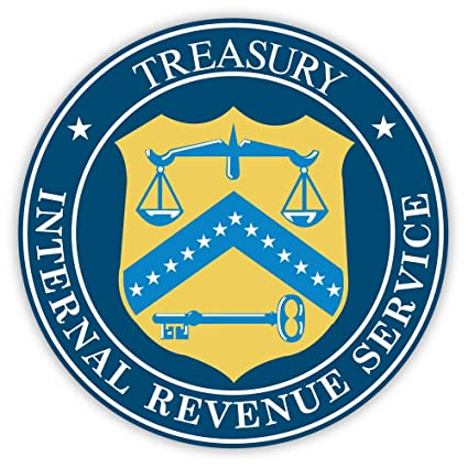 Amazon Irs Internal Revenue Service Treasury Sticker Decal 4 X