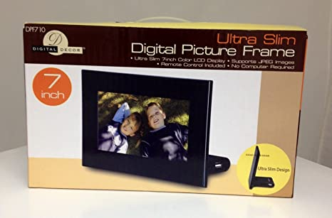 Amazoncom 7 Inch Ultra Slim Digital Picture Frame Camera Photo