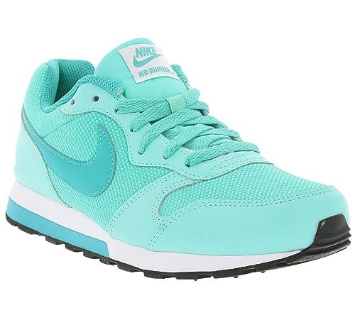 White Complementos 12 38 Eu Mujer Amazon hyper Running gs Nike Y 2 Jade Runner Zapatillas De Turqclear Md es Volt Turquesa Zapatos Para SqwBf6na