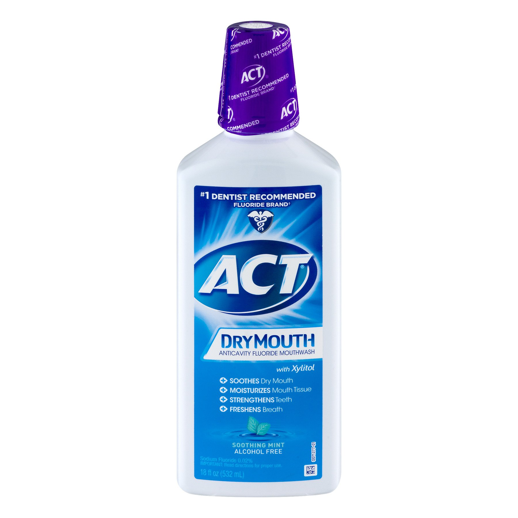 Act Tot Care Dry Mouth Rn Size 18z