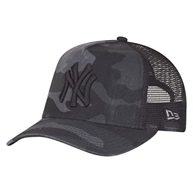 2db1ae61e3 New Era Kids Trucker Cap - NY Yankees washed dark camo - Youth ...