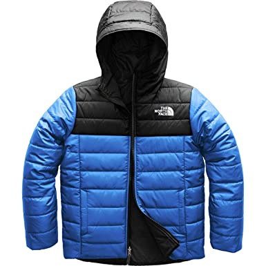 a747aa5f9f23 The North Face Boys Reversible Perrito Jacket - Turkish Sea - XXS   Amazon.co.uk  Clothing