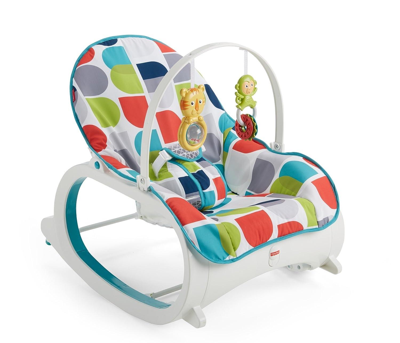 Fischer-Price 费雪 二合一婴幼儿摇椅