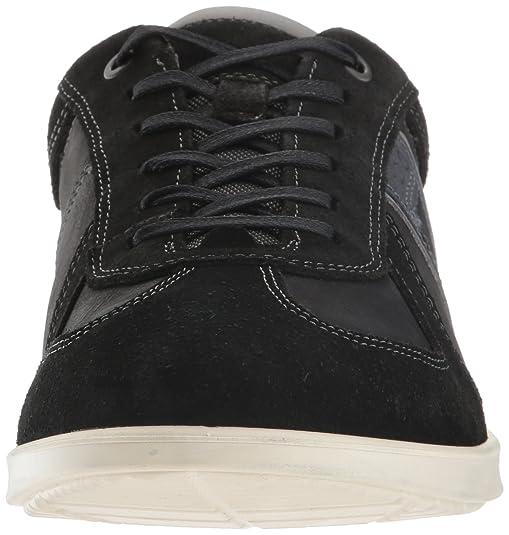 ECCO Zapatillas de moda Collin Classic Tie para hombre, Dark Clay, 47 EU / 13-13.5 M EE. UU.