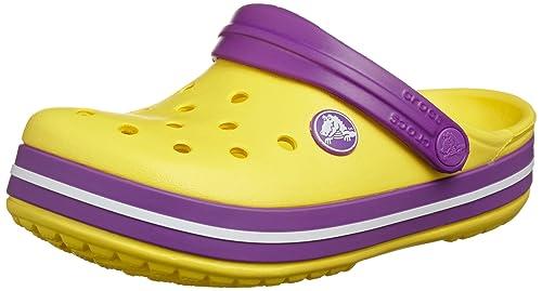Sandali gialli per unisex Crocs Crocband 37j9zYh