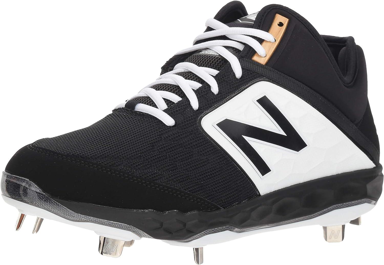 3000 V4 Metal Mid-Cut Baseball Shoe