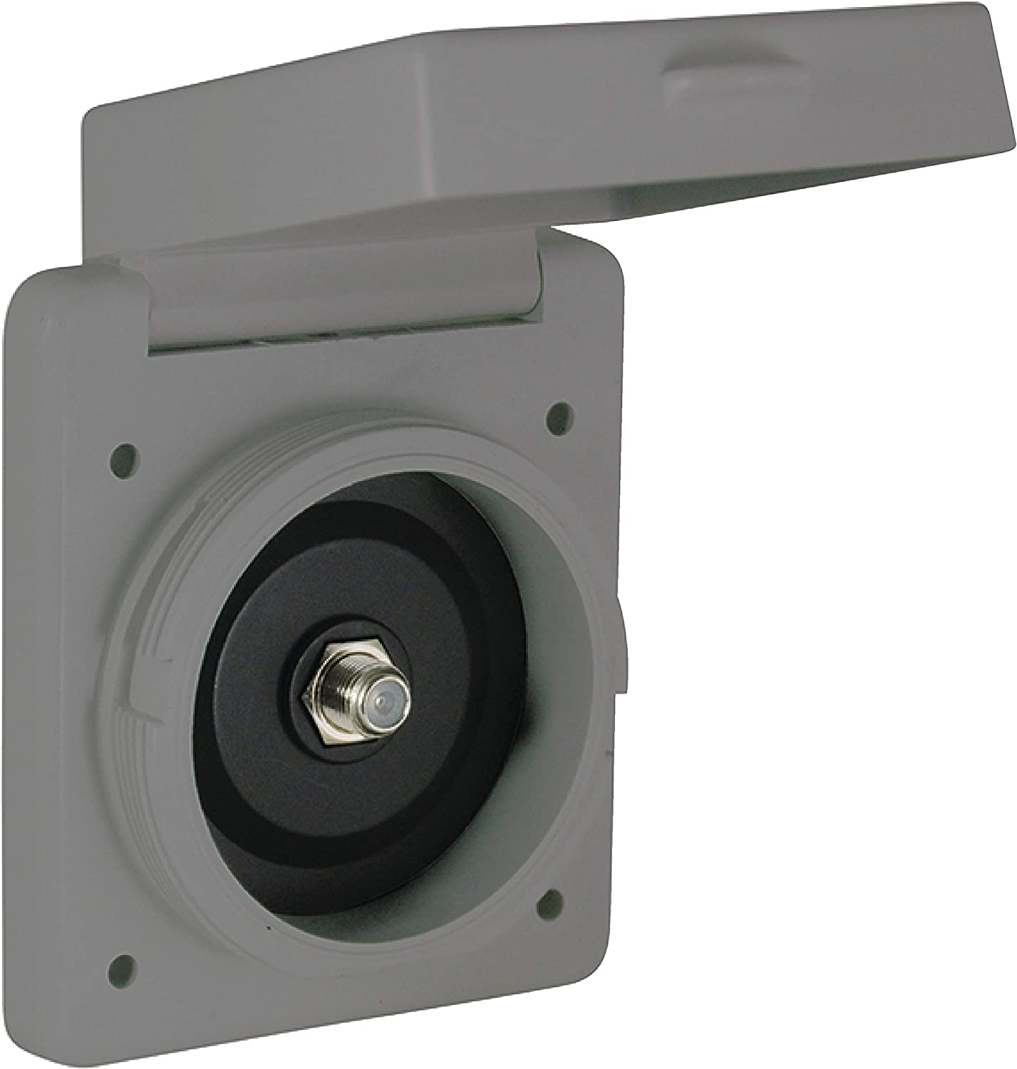 Gray ParkPower by Marinco Cable TV Standard Inlet