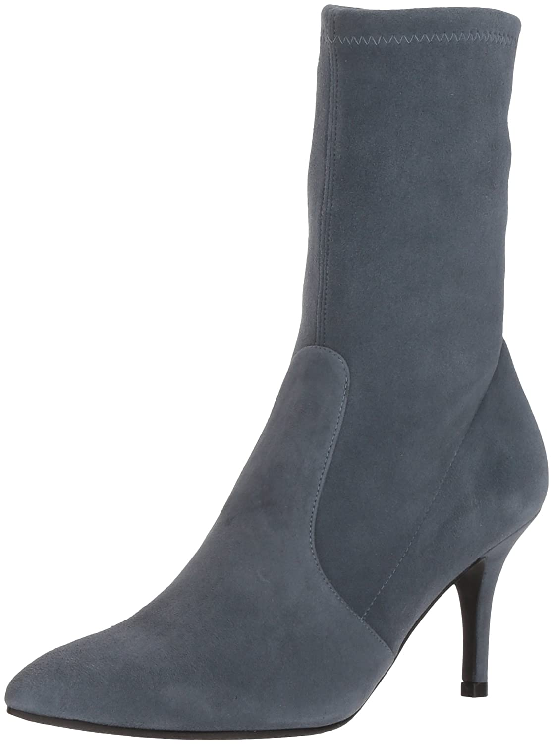Stuart Weitzman Women's Cling Ankle Boot B07954T4NM 5 B(M) US|Denim Suede