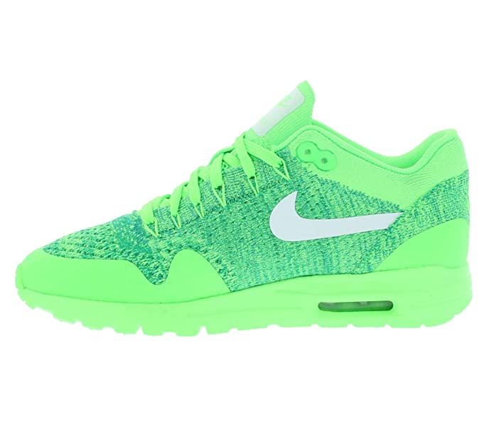 ff9dcaeeed Nike Womens Air Max 1 Ultra Flyknit Running Trainers 843387 Sneakers Shoes  (US 6. 5, Voltage Green White Lucid Green 301): Amazon.in: Shoes & Handbags