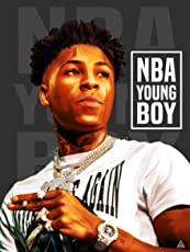 777 Tri-Seven Entertainment NBA YoungBoy Poster Never Broke Again Wall Art Print (18x24)
