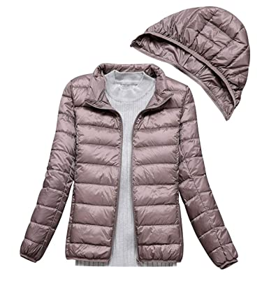aspetto dettagliato 641c0 ce66e Piumino Leggero Donna Con Cappuccio Piumini Leggeri Giacca Piumino Leggeri  Donna Giacconi Invernali Cappotto Piumino Trapuntato Ultraleggero Pesante  ...