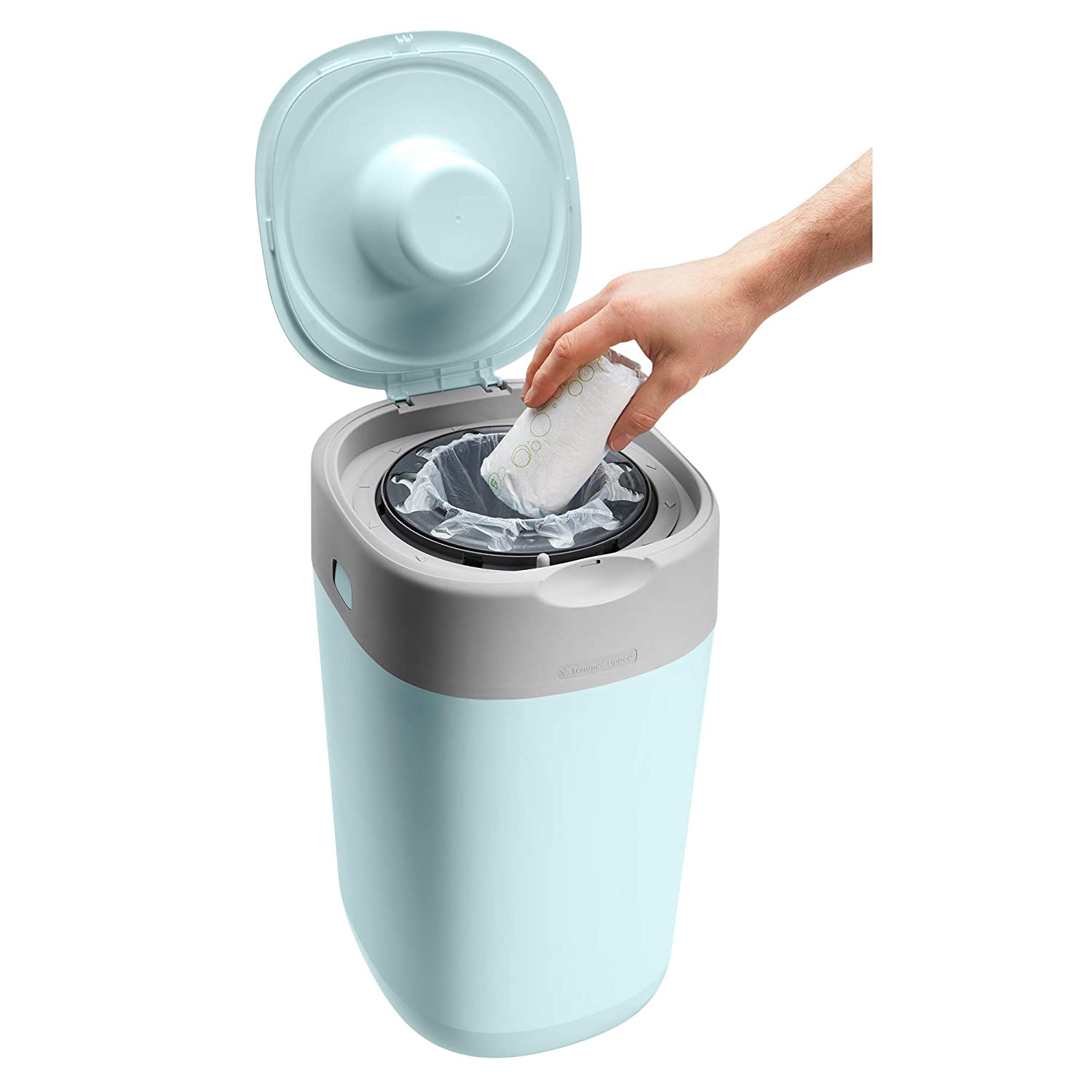 Nappy Disposal Sangenic Tec Refills Tommee Tippee Twist and Click Advanced Nappy Disposal Sangenic Tec Bin White Pack of 12
