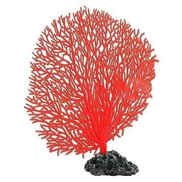 Árbol de coral de resina artificial para decoración de acuario tanque Plantas Simulación Colorful soft Ornament: Amazon.es: Productos para mascotas