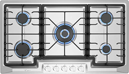 Empava EMPV-36GC23 36 Inch Stainless Steel Gas Cooktop