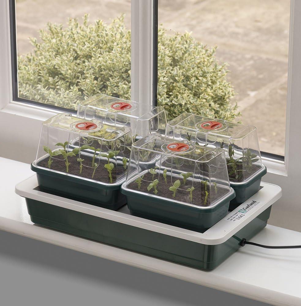 Garland - Mini invernadero (con calefacción, 38,5 x 24 x 15,5 cm)