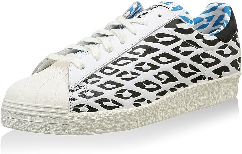 Adidas Originals SUPERSTAR 80s WC Blanc Noir M21779 T 46