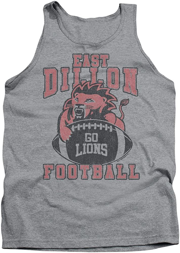 Friday Night Lights Teen Sports Drama Series Go Lions Adult Tank Top Shirt