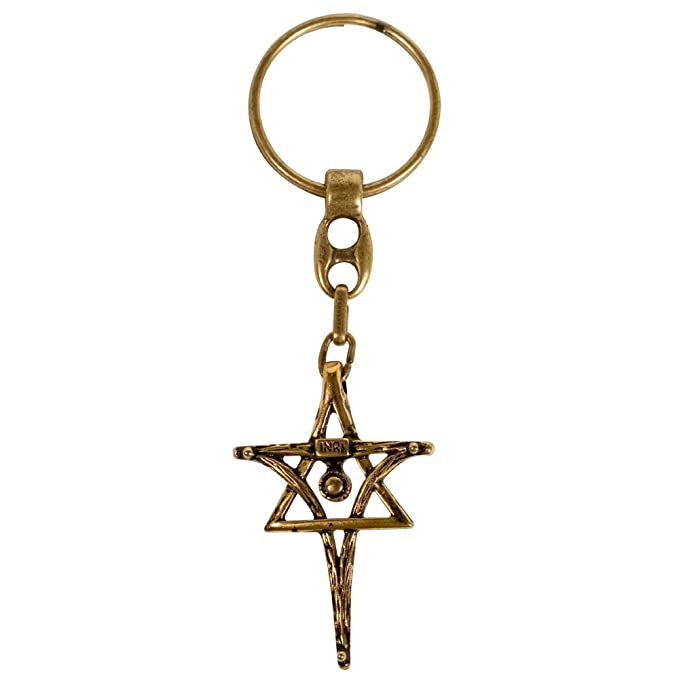 Amazon.com: Messiaca Inri - Llavero con cruz cristiana ...