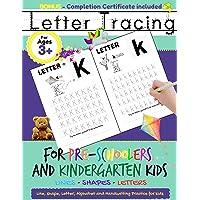 Letter Tracing For Pre-Schoolers and Kindergarten Kids: Alphabet Handwriting Practice for Kids 3 - 5 to Practice Pen…