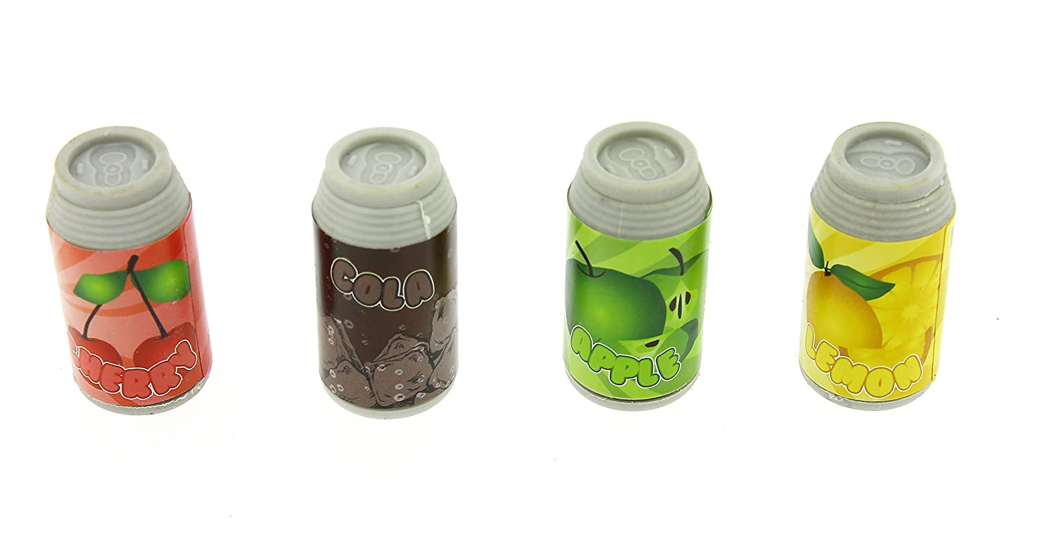 Novelty Erasers Scented drinks cans Blueprint Collections ERAS2109