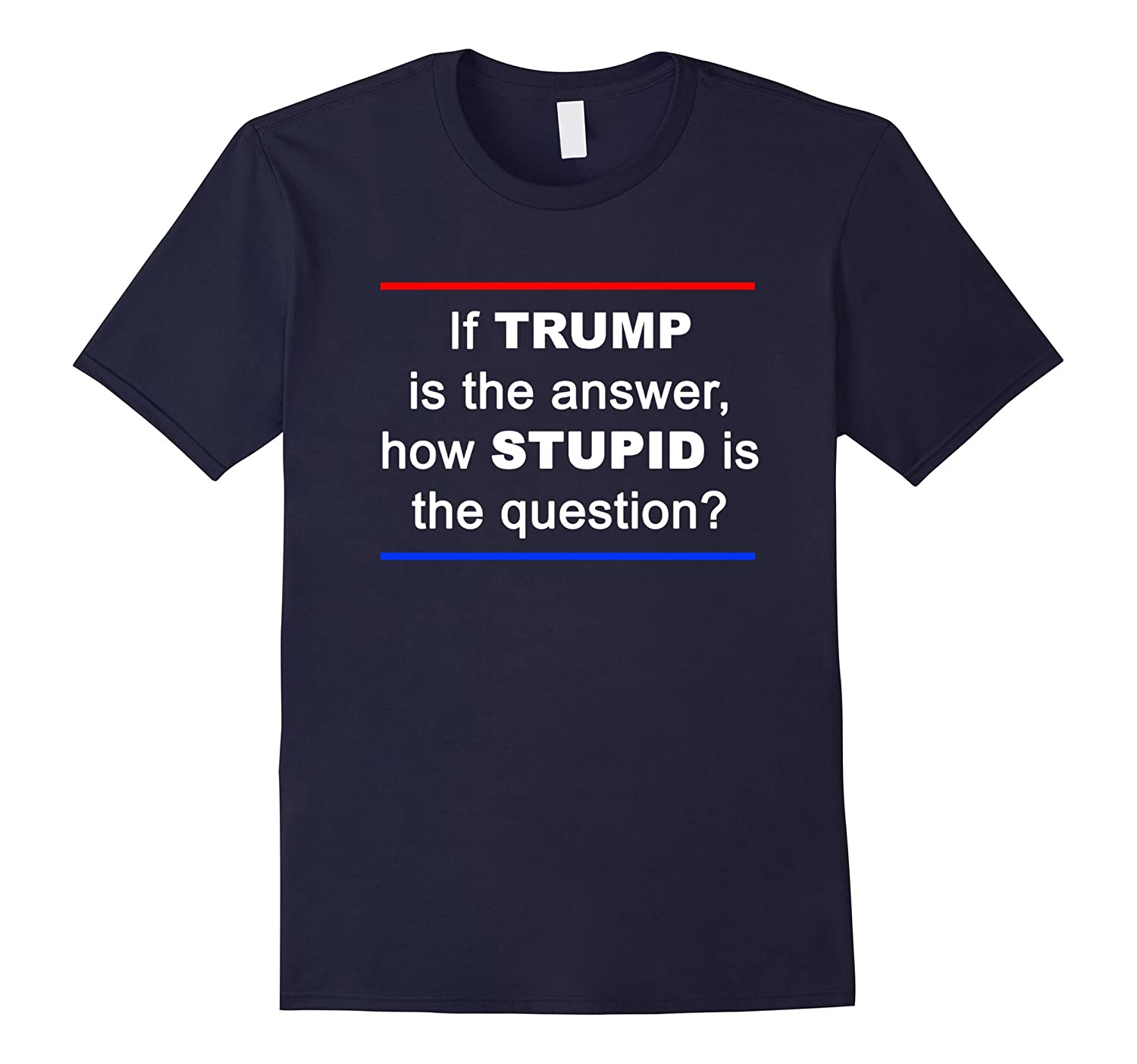 If TRUMP Is The Answer How STUPID Is The Question?-TH