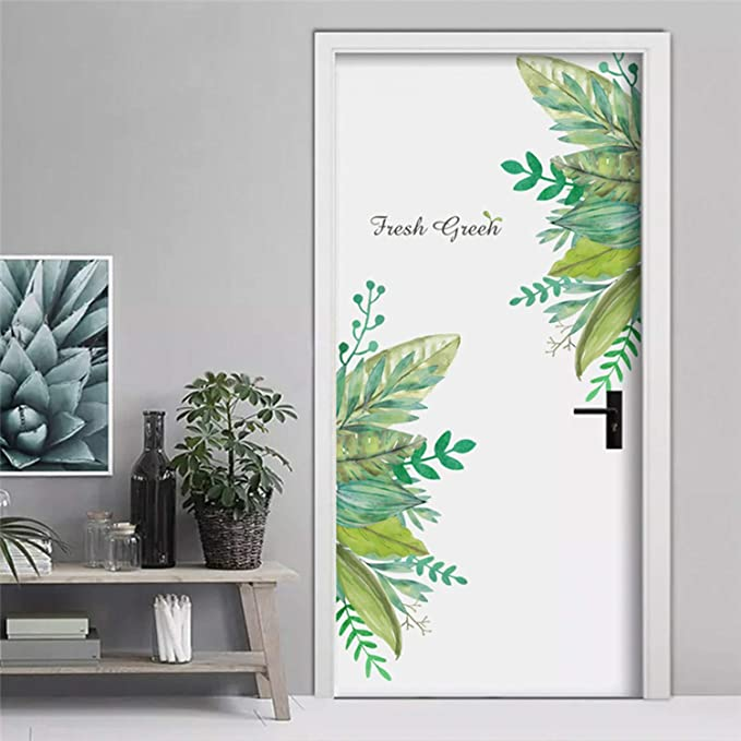 Amazon.com: Jewh Fresh Green Garden Plant Baseboard Wall Sticker Home Decoration Mural Decal Living Room Bedroom Decor: Home & Kitchen