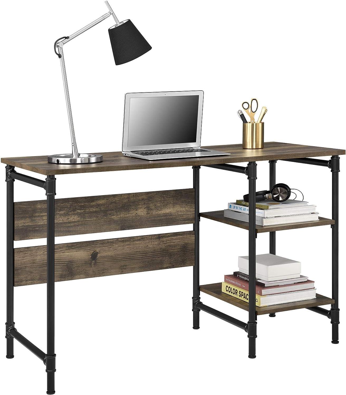 Ameriwood Home 5374846COM Carter Pedestal Desk, Rustic
