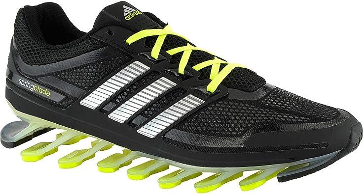 Amazon.com | Adidas Springblade G66970 Black/silver/electricity ...