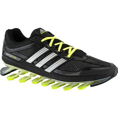 best website 8242f ed9d6 Amazon.com   Adidas Springblade G66970 Black silver electricity Razor Men s  Running Shoes (Size 13)   Running