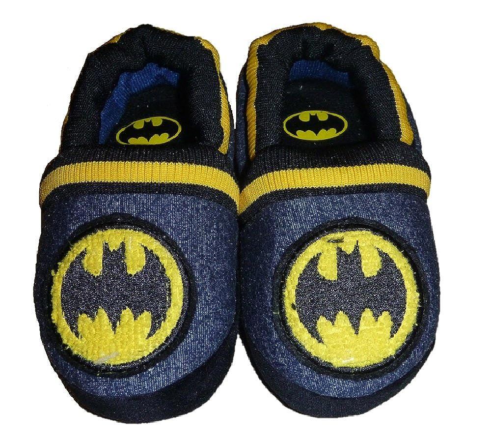 BBC International Toddler Boys Batman Logo Slippers