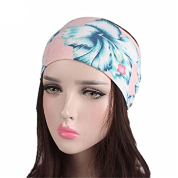 Apparel Accessories Girl's Hair Accessories Fashion Wide Cotton Yoga Headband For Women Adult Leopard Dots Striped Printed Fabric Hairband Turban Headwrap Hair Accessories