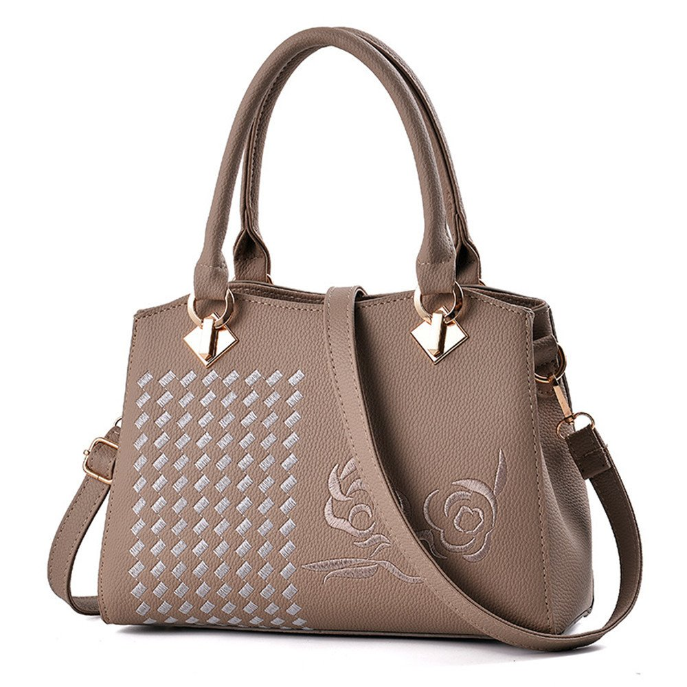 RFVBNM Women s bag Simple Embroidery Line Design lady bag version of casual  lady handbag oblique span Package single Shoulder satchel Valentine s Day  ... a1ff1c964aaea