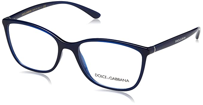 7fae4bb5577 Image Unavailable. Image not available for. Color  Dolce   Gabbana frame (DG -5026 3094) Acetate Dark Blue