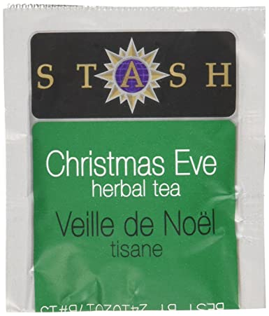 Stash Tea Christmas Eve Herbal Tea, 10 bolsas de té en papel ...
