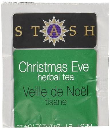 Amazon.com : Stash Tea Christmas Eve Herbal Tea, 100 Count Box of ...