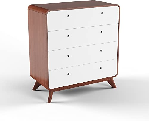 Carson Carrington Hafnarfijorour Mid-Century 4-Drawer Chest