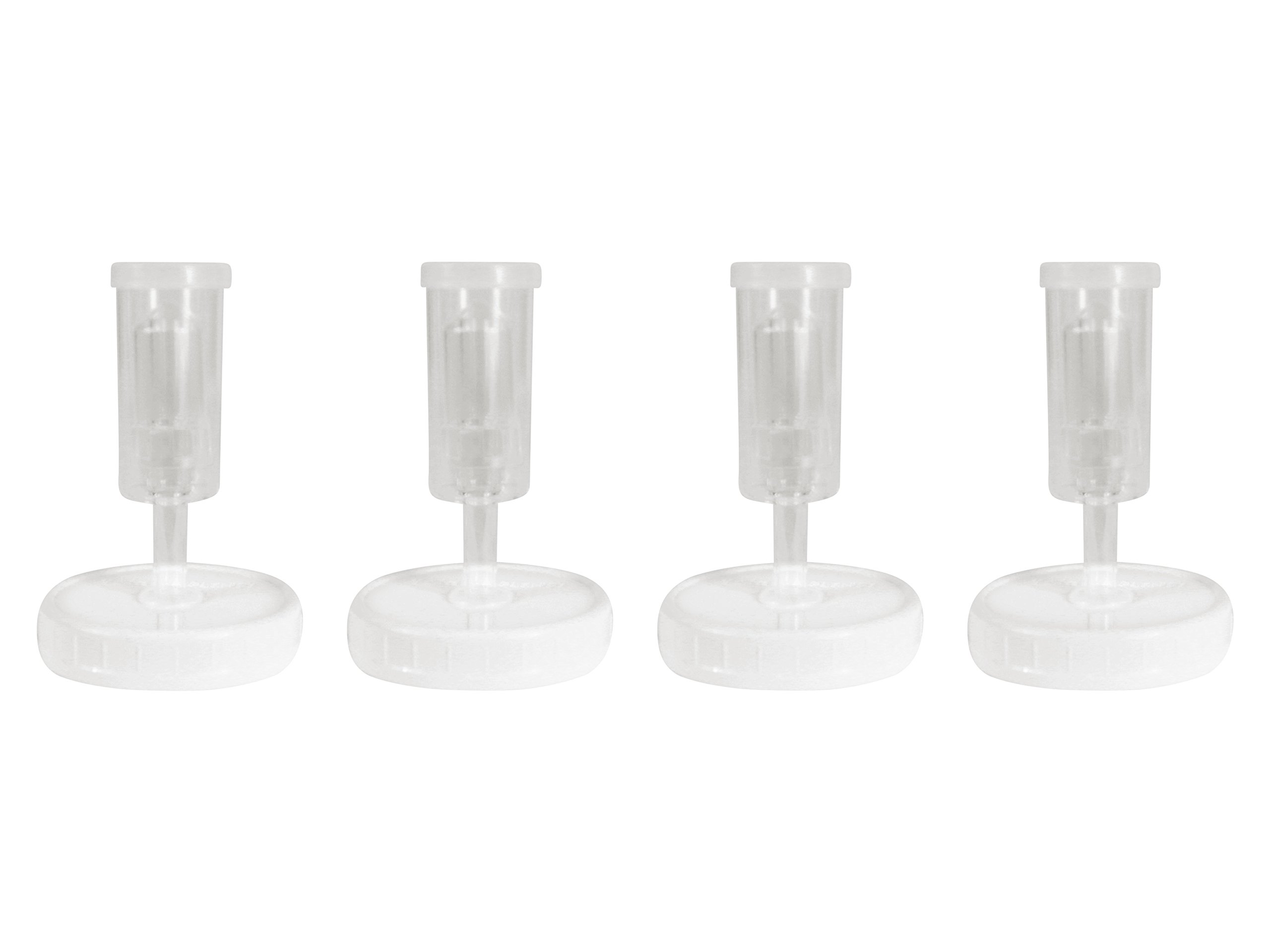 Year of Plenty BPA-Free White Fermentation Lids - for Making Sauerkraut in Wide Mouth Mason Jars - Set of 4 - Includes Instructions and Recipe… (White) by Year of Plenty (Image #3)