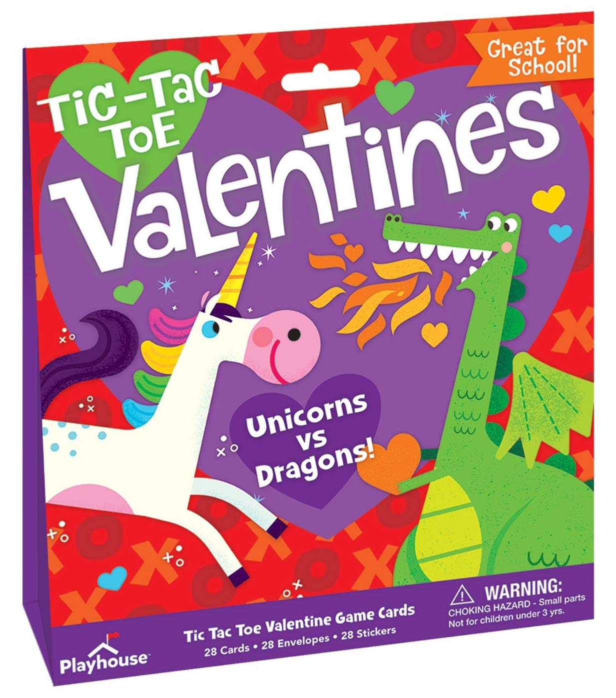 Playhouse 28 Card Super Valentine Exchange Pack for Children 3