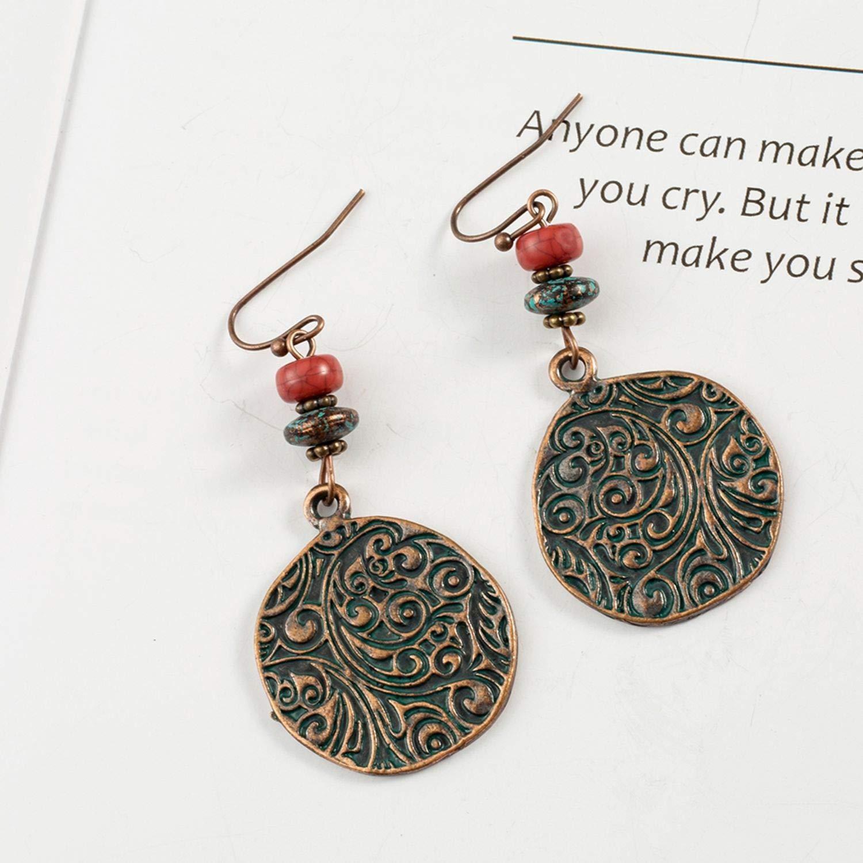 Multiple Kinds Vintage Bohemian Boho Ethnic Drop Earrings Dangle Earrings Hanging Casual Jewelry Accessories