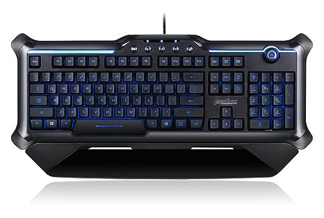 Perixx PX-1200 Teclado Gaming Español- Retroiluminado: Amazon.es: Electrónica