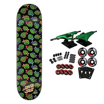 Amazon.com : Santa Cruz Skateboard Complete Teenage Mutant ...