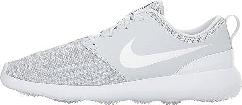 Amazon Com Nike Men S Roshe G Golf Shoe Pure Platinum White Size 7 M Us Golf