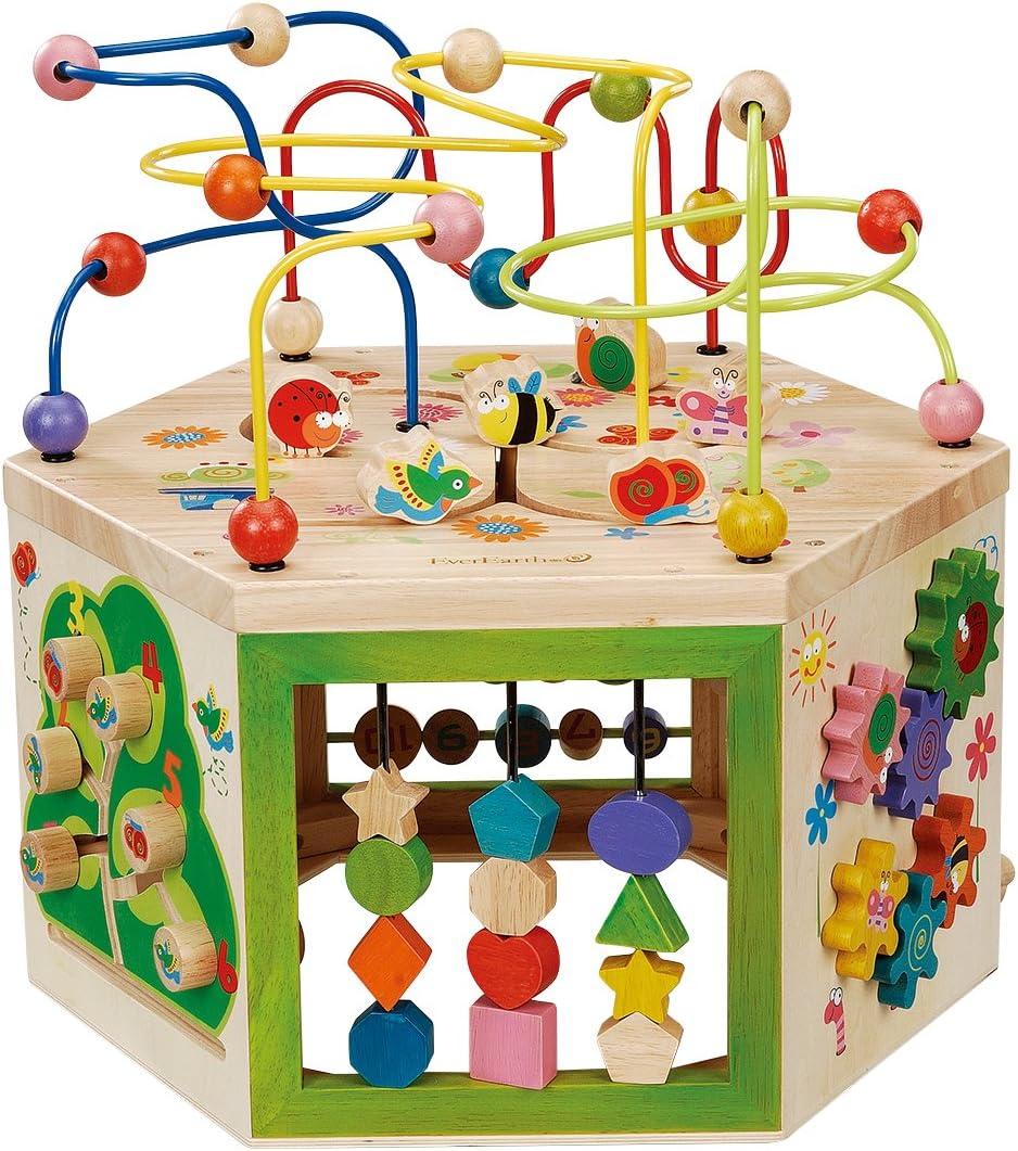 EverEarth- Centro DE Juego Jardin 7 EN 1 Actividad, Multicolor (EE33285) , color, modelo surtido: Amazon.es: Juguetes y juegos
