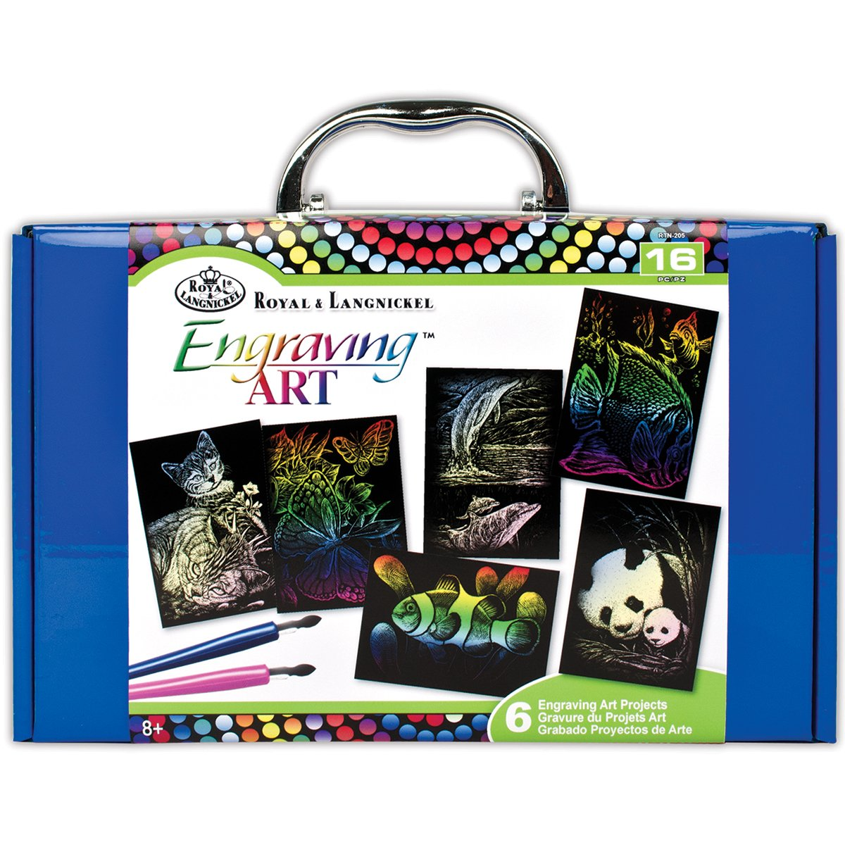 ROYAL BRUSH RTN-205 Engraving Art Kit Royal Langnickel