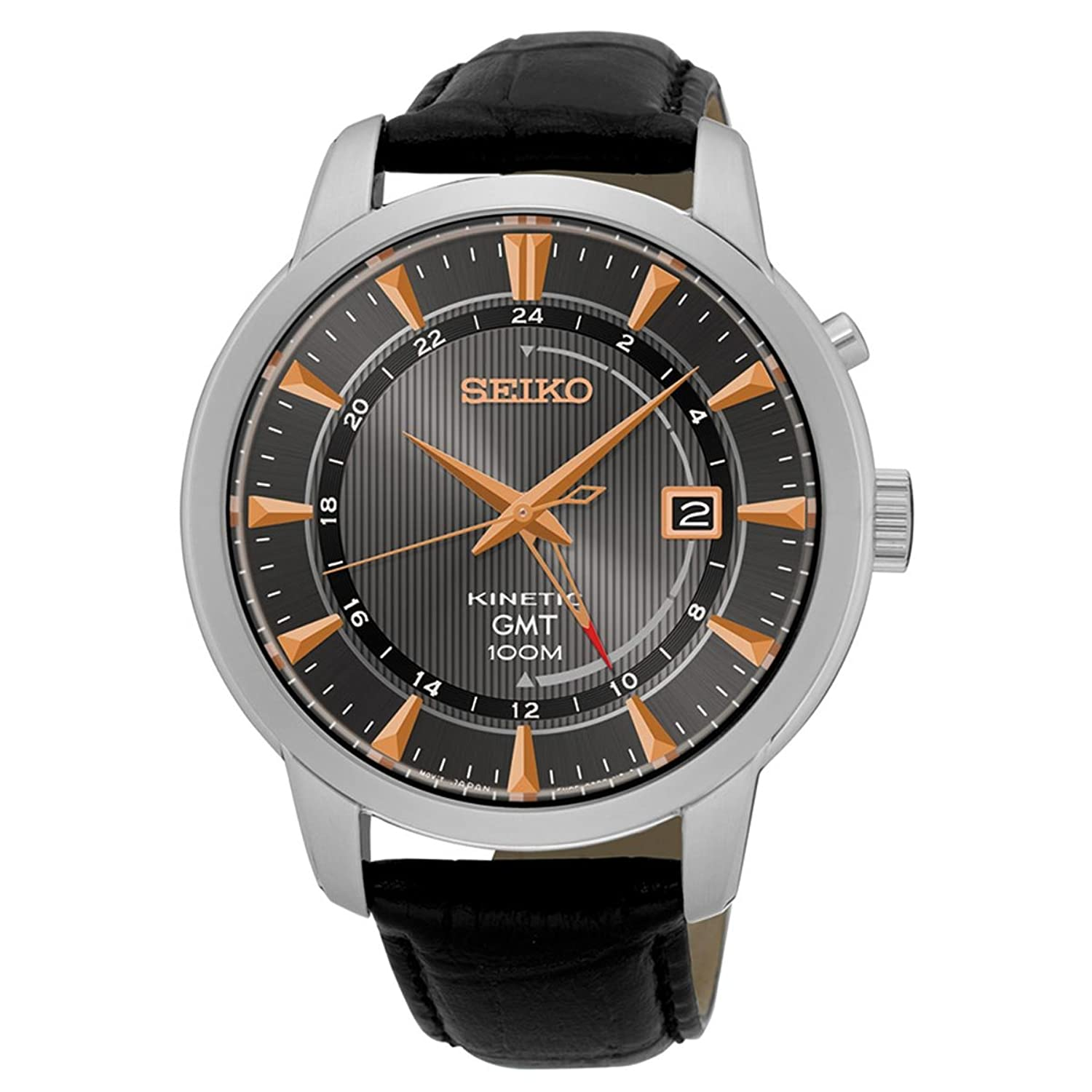 Seiko Netz Me Up Watch Business KINETIC KINETIC Reloj SUN063P1