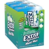 EXTRA Refreshers Mint Mix Gum, 3.21-Ounce 40-Piece Bottle (Pack of 6)