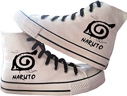 1 poster Fanstown Naruto hand painting canvas shoes cool sneaker