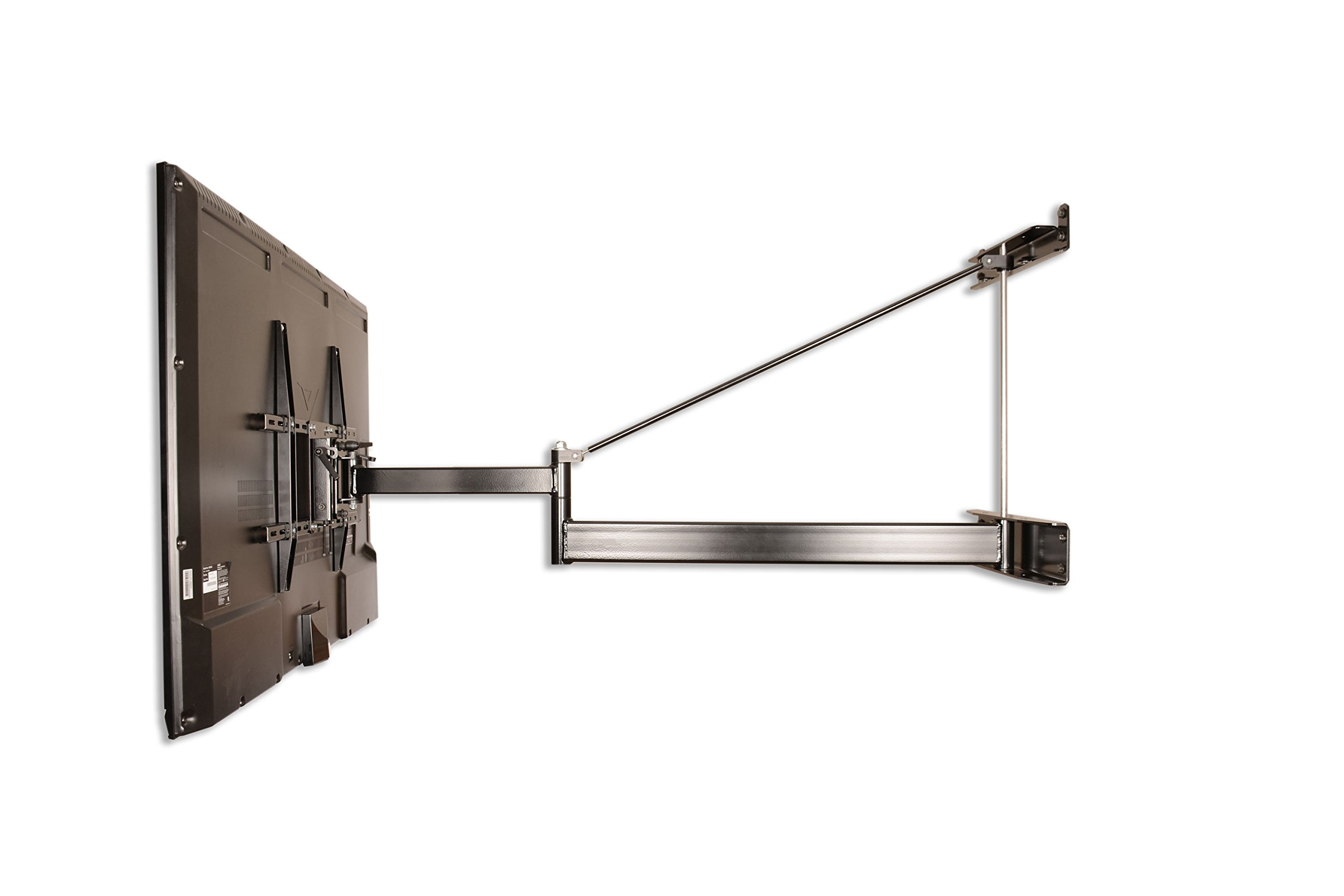 Extra Long Arm TV Mount, 55″-75″ Panel TVs, Extends 52″