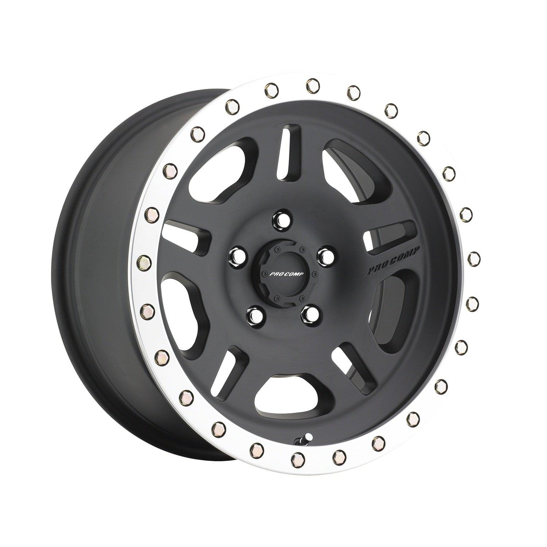 Pro Comp Alloys Series 29 La Paz Satin Black Wheel with Machined Lip (16x8''/6x139.7mm) by Pro Comp Alloys (Image #1)
