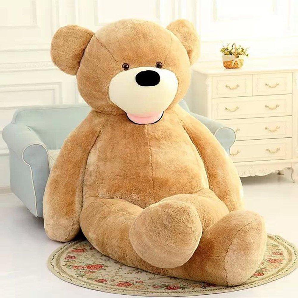 VERCART 11 Foot 133 inch Light Brown Giant Gigantic Large Teddy Bear Stuffed Plush Animal Toy Gift for Kids Friends by VERCART